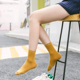 5 pairs of cotton socks for women
