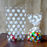 Polka dot gift bag lot