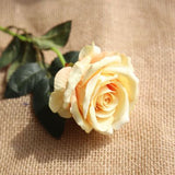 Artificial rose flowers bouquet of 10