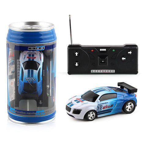 RC mini cola can toy car
