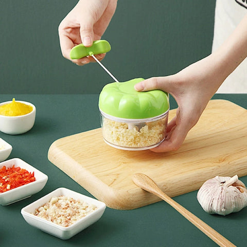 Multi-function manual vegetable chopper