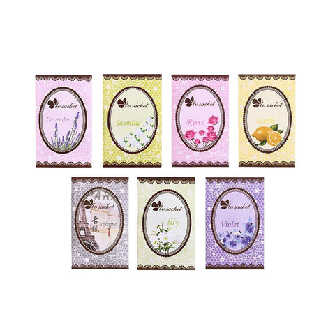 Set of 20 wardrobe fresheners