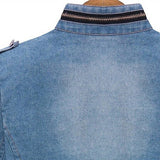 Casual denim jacket for women