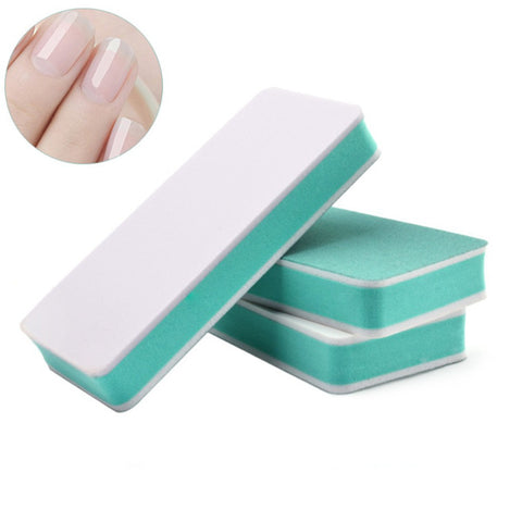 Double sided buffer & polishing manicure tool