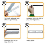 LED PIR motion sensor light
