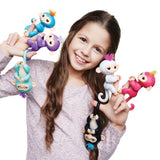 Interactive smart monkey small fingerling toy