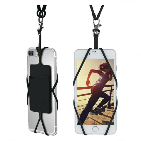 Lanyard strap for smart phones