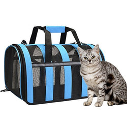 Pet carry bag with shoulder strap