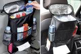 Universal thermo car seat organizer