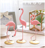 Flamingo decoration stand