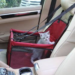 Small pet carry basket for car