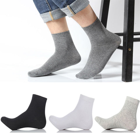 5 pairs long socks for men