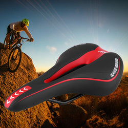 Soft mountain bike seat cover