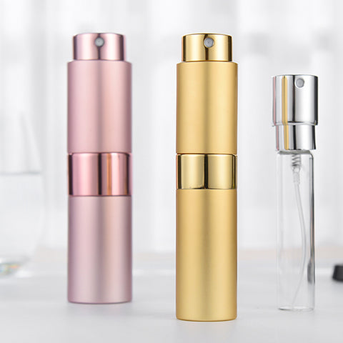 Mini aluminum perfume bottle