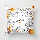 Christmas decoration pillow cover