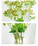 Artificial country flowers - set of 3
