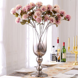 Artificial dahlia flowers - set of 3