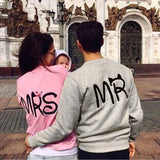 Mr & Mrs printed pullover