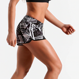 Printed casual & fitness shorts