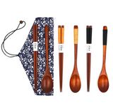 Chopsticks & miso soup spoon set