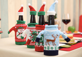 Christmas wine bottle costume set