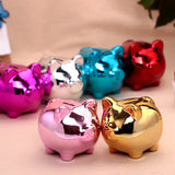 Ceramic piggy bank coin box