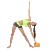 Professional yoga block cork pilates props