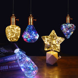 Creative wire string LED bulb