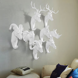 Decorative animal hanger