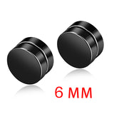 Magnetic stud earrings 4 pairs