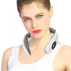 Electric physiotherapy neck massager