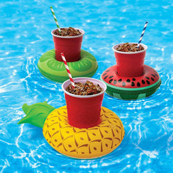 5 pcs inflatable floating cup holders