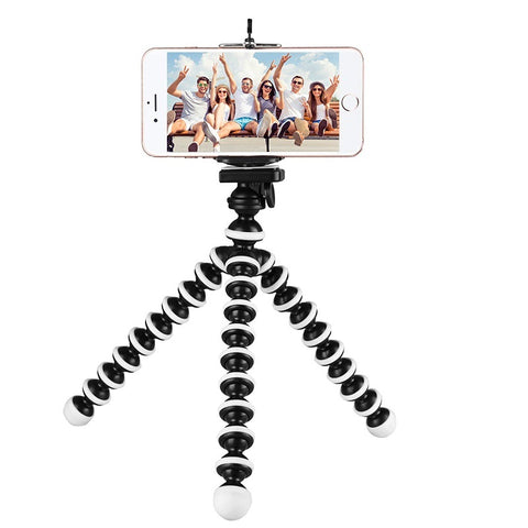 Flexible tripod stand