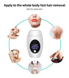 Body & face LCD laser epilator