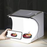 2 LED photography light box