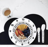 Fun dining plate for kids