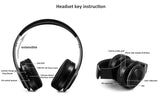 Bluetooth crystal sound headphones