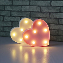 Heart LED light