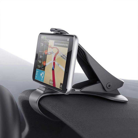 Adjustable universal car phone clip