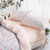 Cotton sleeping pillowcase set
