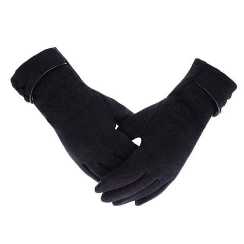 Touch screen driving gloves