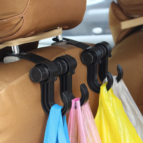Car grocery holding hook