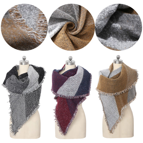 Thick & warm winter scarf