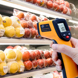 Digital infrared thermometer gun