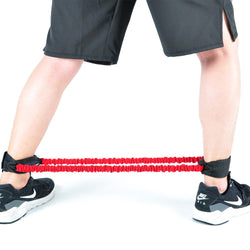 Leg exercise resistance band