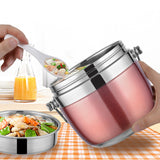Stainless steel lunch thermos