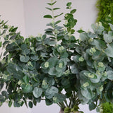 Artificial green leaves home & garden decor
