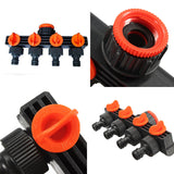 4 way garden hose splitter