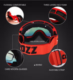 Copozz double layered skiing & snowboarding goggles