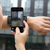 Rotating running armband for smartphone